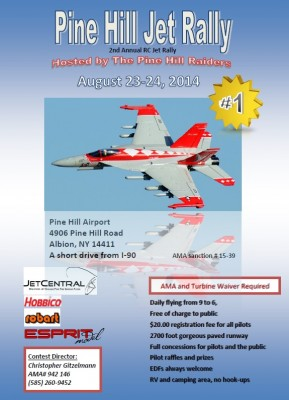pine hill jet rally